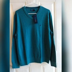 Nautica Men's Vneck Sweater